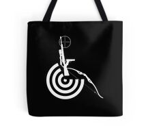 Disabled Shooters - White Tote Bag