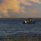 summer sunset by tori yule