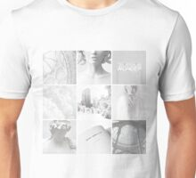 Aesthetic: White Unisex T-Shirt