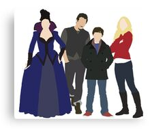 Swanfire Queen Family Canvas Print