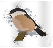 Willow Tit Poster