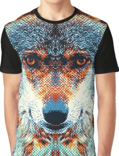 Wolf - Colorful Animals Graphic T-Shirt