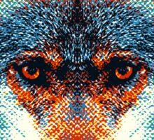Wolf - Colorful Animals Sticker