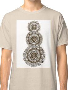 Orange Mandala Classic T-Shirt