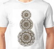 Orange Mandala Unisex T-Shirt