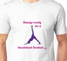 Handstand Contest? Unisex T-Shirt