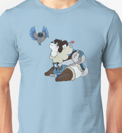Polar Mei and Owl Snowball Unisex T-Shirt