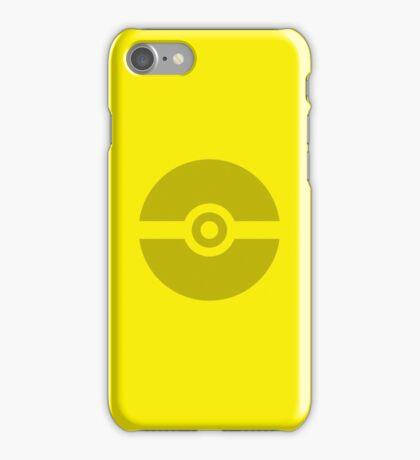 Pokeball Yellow iPhone Case/Skin