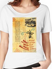 Growing Up Gracefully T-Shirt Women's Relaxed Fit T-Shirt
