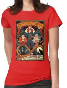 Hocus Pocus Sanderson Sisters Womens Fitted T-Shirt