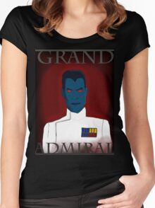 Grand Admiral Thrawn Women's Fitted Scoop T-Shirt