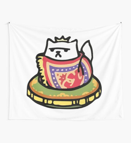 Xerxies IX - Neko Atsume Wall Tapestry