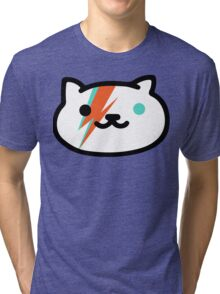 David Meowie Tri-blend T-Shirt