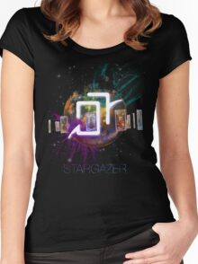FFXIV Astrologian - Stars in Our Faults Women's Fitted Scoop T-Shirt
