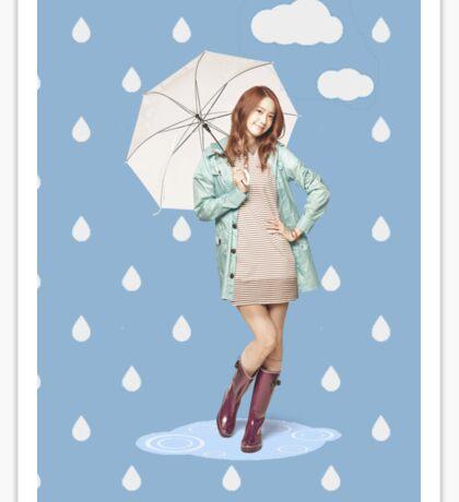 SNSD Yoona umbrella Sticker