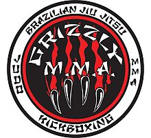 Grizzly MMA Selection Photographic Print