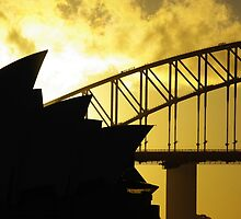 Sydney Opera House and Harbour Bridge-Alternate 2 by Craig Stronner