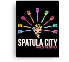 Spatula City Canvas Print