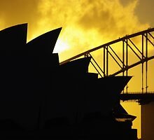Sydney Opera House and Harbour Bridge-Alternate 1 by Craig Stronner
