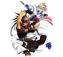 Guilty Gear - Sol & Ky Photographic Print