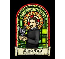 Tesla: The Electric Jesus Photographic Print