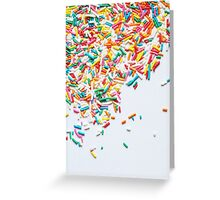 Sprinkles Party I Greeting Card
