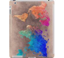 World map 5 iPad Case/Skin