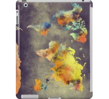World map 2077 iPad Case/Skin