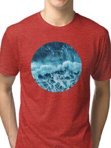 Sea wave Tri-blend T-Shirt