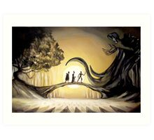 The Story of the Three Brothers  Art Print