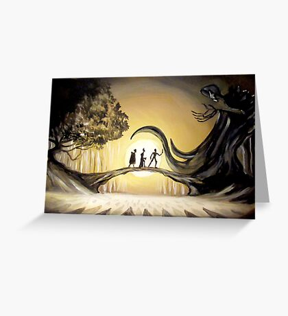 The Story of the Three Brothers  Greeting Card