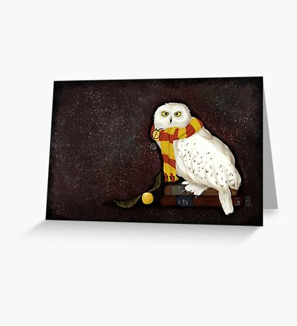Hedwig the Owl Greeting Card