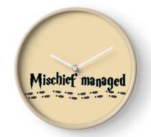 Mischief managed Clock