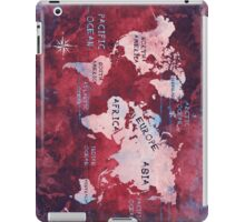 world map 16 iPad Case/Skin