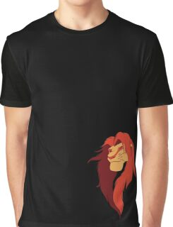 Lion King Vector Design Graphic T-Shirt