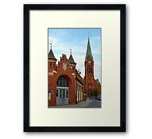 Old city market hall, Bydgoszcz, Poland Framed Print