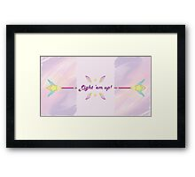Lux, star guardian lux LoL Framed Print