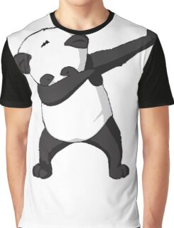 DAB Panda Trend Graphic T-Shirt