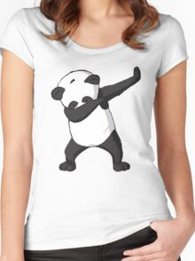 DAB Panda Trend Women's Fitted Scoop T-Shirt