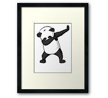 DAB Panda Trend Framed Print