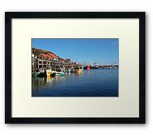Scarborough bay Framed Print