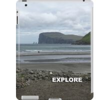 Explore Tjornuvik iPad Case/Skin