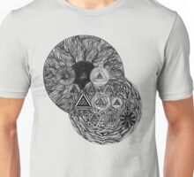 Otherworldly Abstract Drawing - Untitled 9.29.16 (1) Unisex T-Shirt