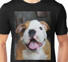 Happy English Bulldog Puppy Unisex T-Shirt