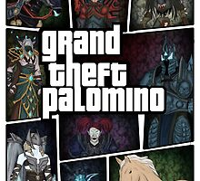 Grand Theft Palomino  by Virva