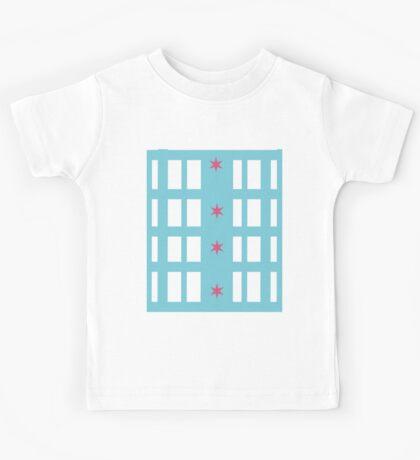 Chicago Remix Building Kids Tee