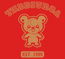 Teddiursa - College Style (Gold) by mrbrownjeremy