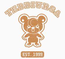 Teddiursa - College Style (Gold) Kids Clothes