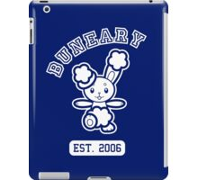 Buneary - College Style (White) iPad Case/Skin