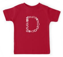 Found Letters - D Kids Tee